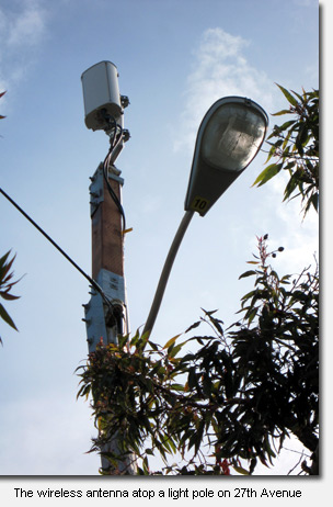 27th Avenue Neighbors Fight Back Against Wireless Antenna