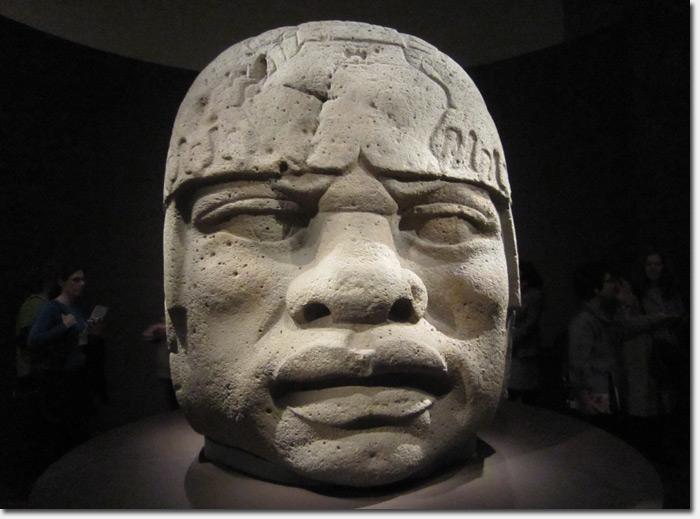 Olmec People Ancient Mexican sculpt...