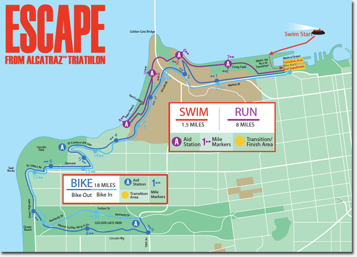 Escape From Alcatraz Triathlon Comes Thru The Hood