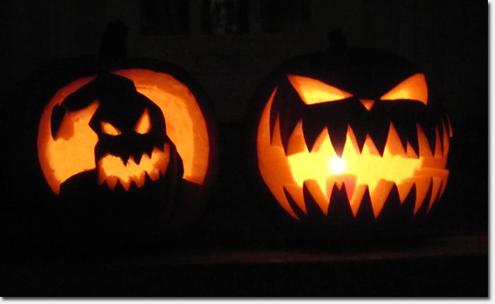 Spooky Pumpkin Carvings