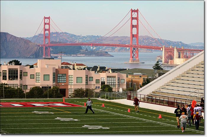 Golden Gate Bridge Uprights Richmond District Blog