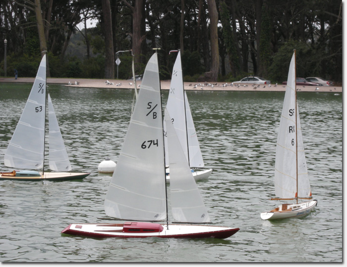 Wooden Boats On Parade Event At Spreckels Lake Sunday