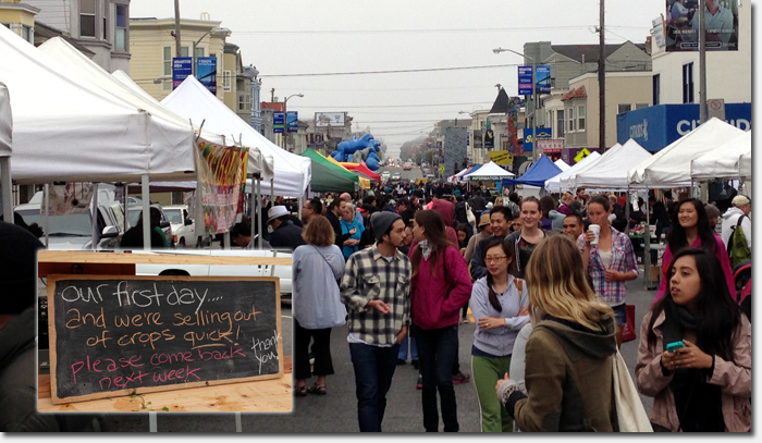 great attendance at first clement st  farmer u2019s market  many vendors sell out  u2013 richmond district