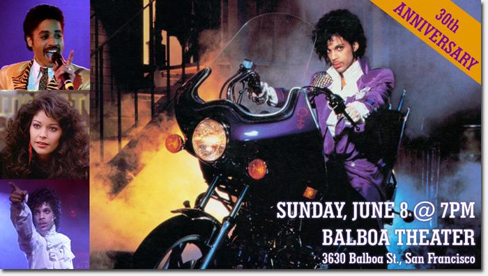Purple Rain 30th anniversary screening at the Balboa Theater