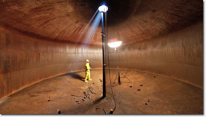 New Underground Emergency Water Cistern Being Installed