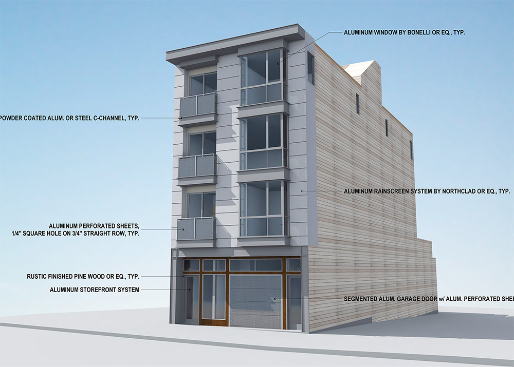 New 4 Story Mixed Use Development Planned For 6044 Geary Richmond District Blog