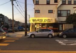 Hawker Eats! on the corner of 18th Ave & Balboa