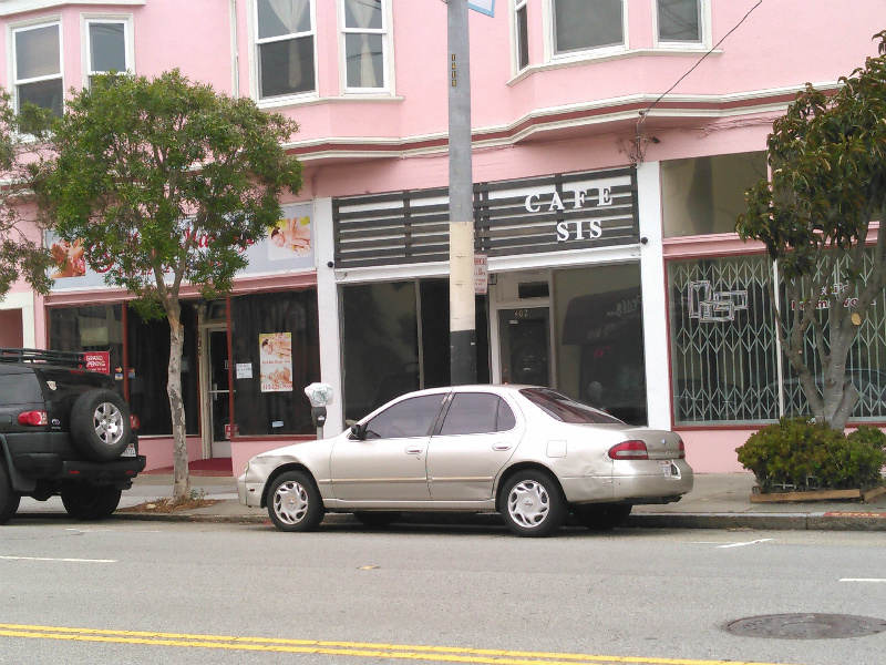 Coming soon: Cafe Sis at 402 Balboa. Photo by Derek