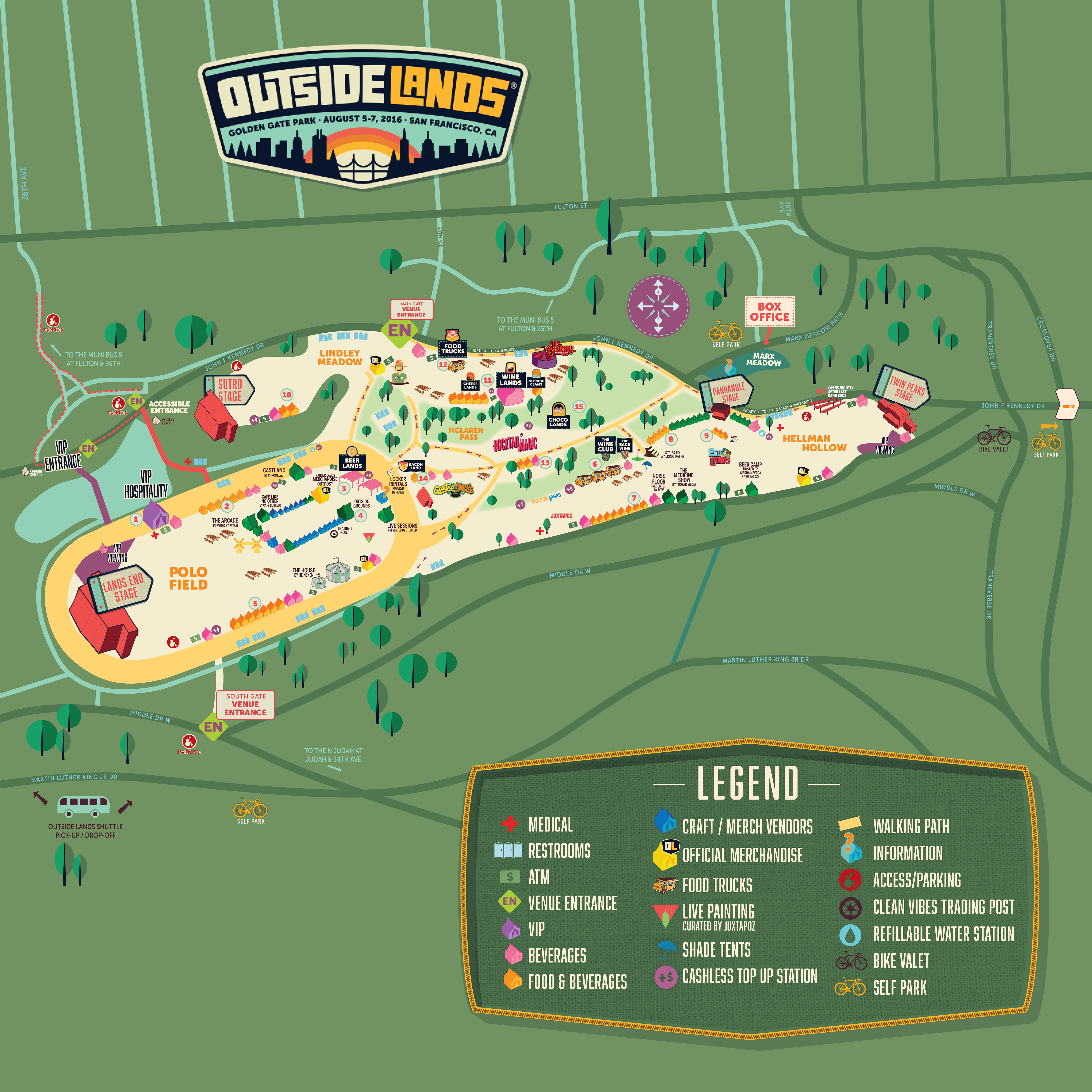 2016 neighbor u2019s guide to the 9th annual outside lands