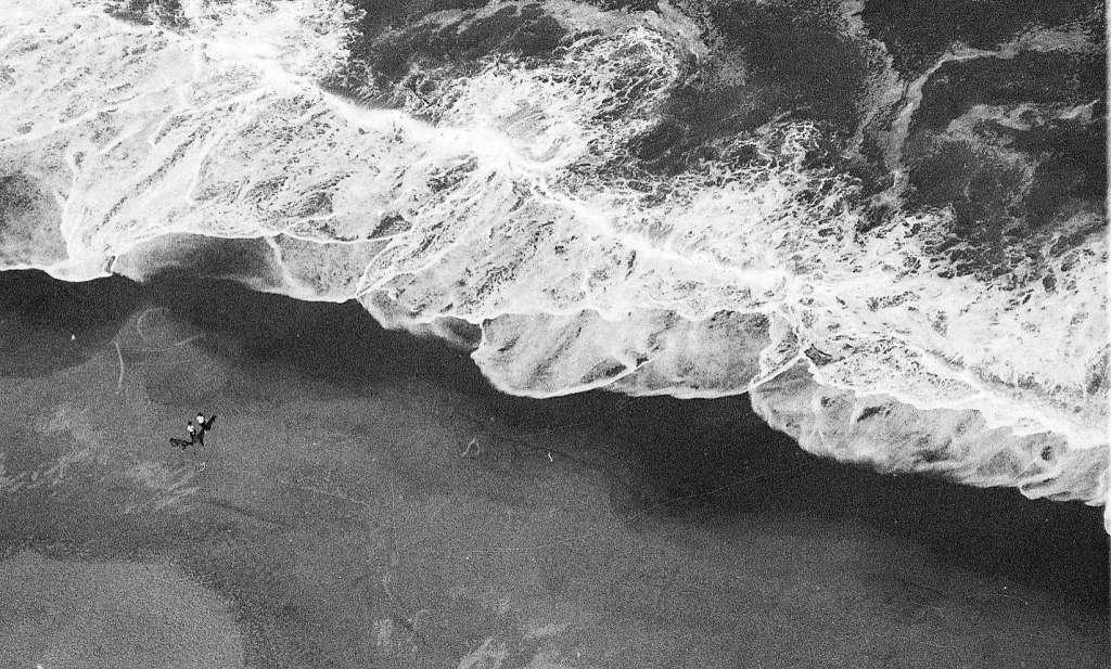 Ocean Beach from the air. Photo: Terry Schmitt, The Chronicle