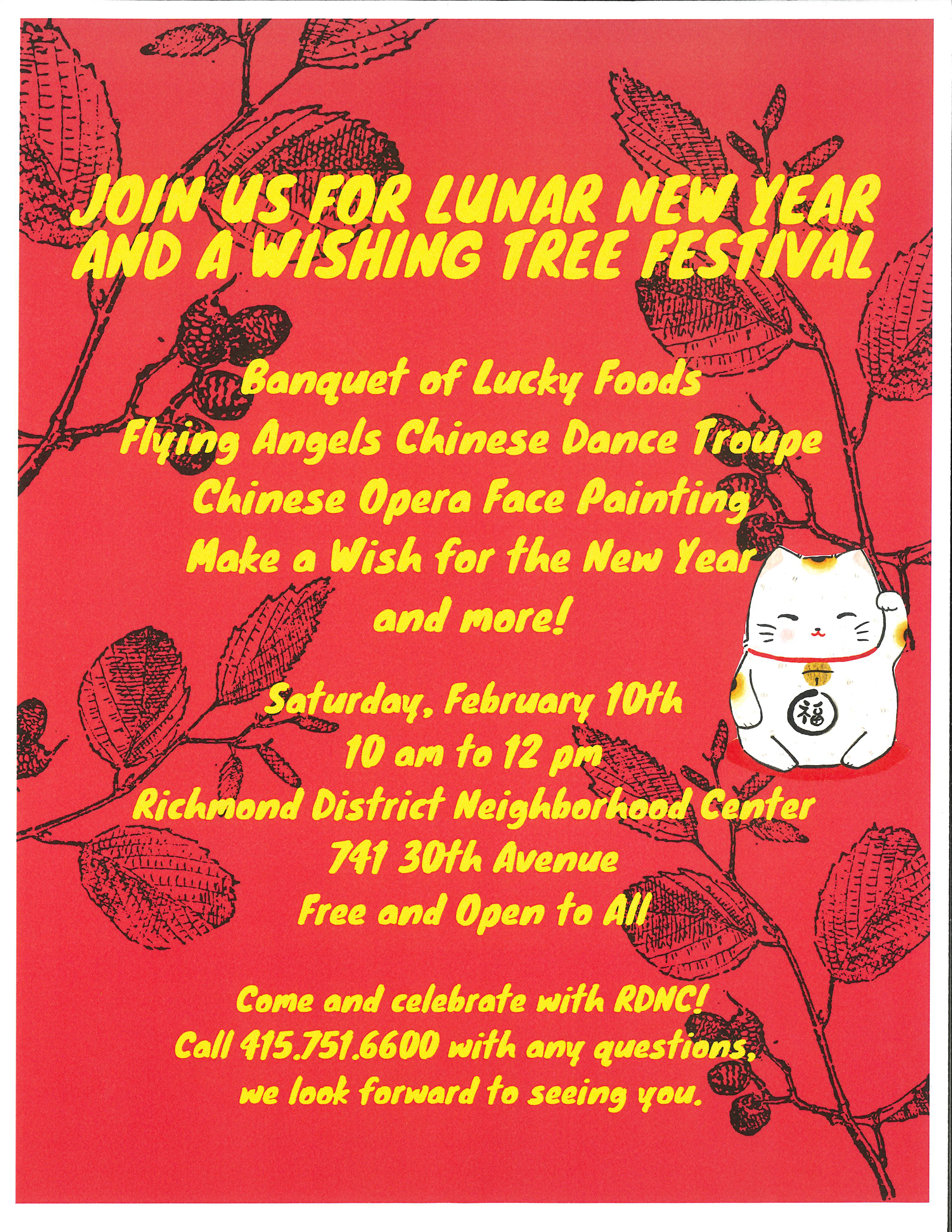 Saturday Celebrate The Lunar New Year With A Free Festival At The
