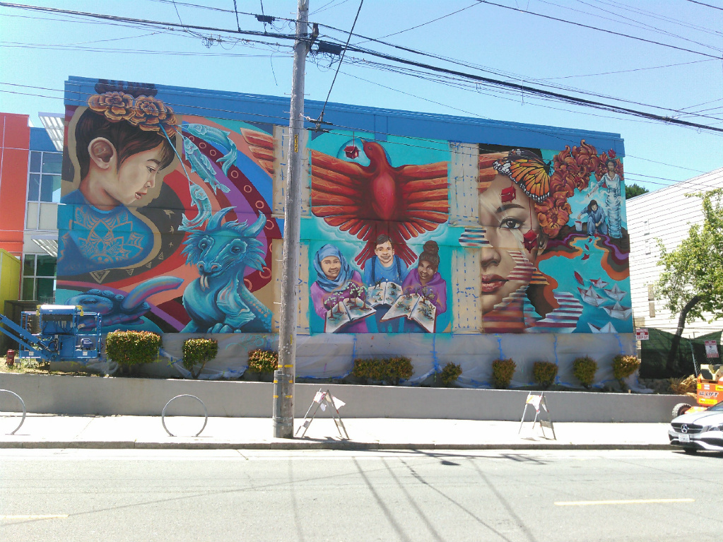 Photos New Mural Painted On Exterior Of Frank Mccoppin Elementary