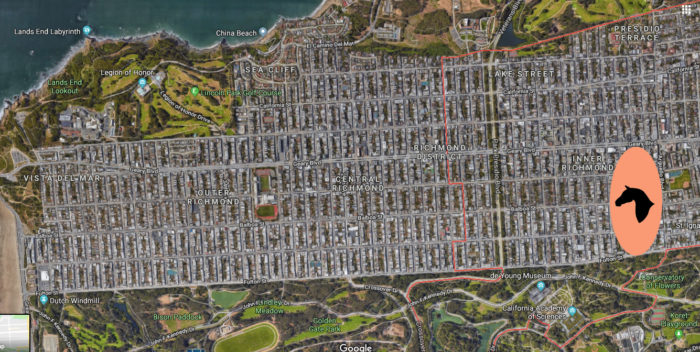 So yeah, there used to be a horse racing track in the Richmond District – Richmond District Blog