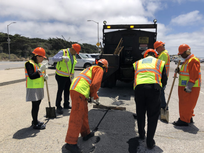 Public Works happenings: 240 potholes patched & a new Pit Stop Restroom at Ocean Beach – Richmond District Blog