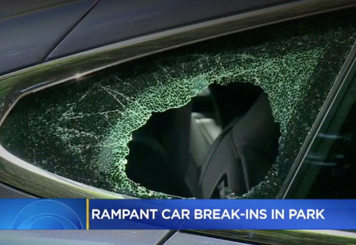 Brazen car break-ins continue at tourist spots; man run over by thief's car while filming their getaway at Legion of Honor – Richmond District Blog